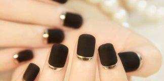 Jak zrobić czarne paznokcie?